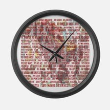Horses of the Year 1887-2012 II Large Wall Clock