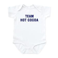 Team HOT COCOA Infant Bodysuit