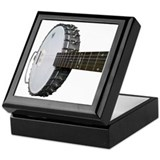 Banjo Square Keepsake Boxes