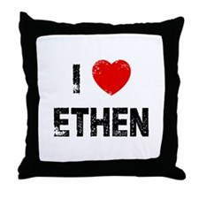 I * Ethen Throw Pillow