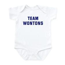 Team WONTONS Onesie