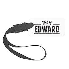 Team Edward Luggage Tag