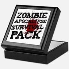 Zombie Apocalypse Survival Pack Keepsake Box