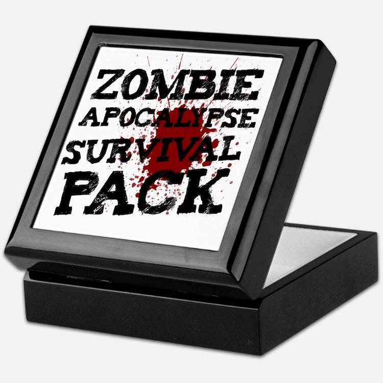 Zombie Apocalypse Survival Pack Keepsake Box