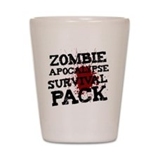 Zombie Apocalypse Survival Pack Shot Glass
