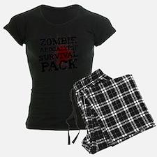 Zombie Apocalypse Survival P Pajamas