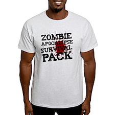Zombie Apocalypse Survival Pack T-Shirt
