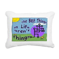 Best Things SIGN Rectangular Canvas Pillow