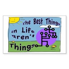 Best Things SIGN Decal