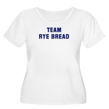 Team RYE BREAD Women's Plus Size Scoop Neck T-Shir