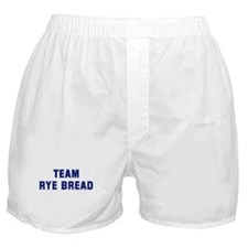 Team RYE BREAD Boxer Shorts