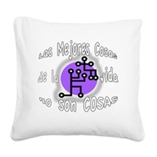 Best Things SP BL Square Canvas Pillow