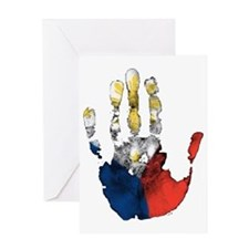 PINOY HAND Greeting Card