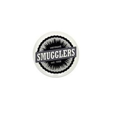 Smugglers Notch Ski Resort Vermont Bla Mini Button