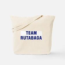 Team RUTABAGA Tote Bag