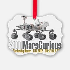 I AM Mars Curious Ornament
