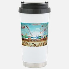 Coney Island Painting 1 Travel Mug