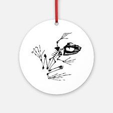 blackbonefrog Round Ornament