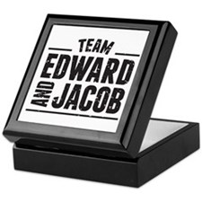 Team Edward and Jacob Keepsake Box