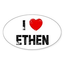 I * Ethen Oval Decal