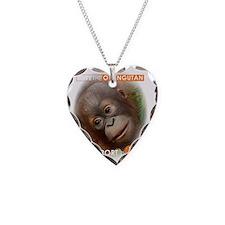 Save the Orangutan Necklace