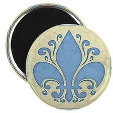 fleur-antique-blu-PLLO Magnet