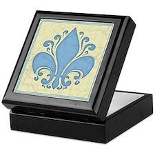 fleur-antique-blu-PLLO Keepsake Box