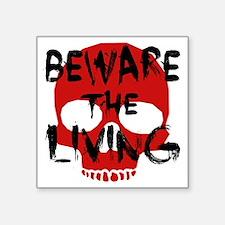 """Undercity - Beware the Livi Square Sticker 3"""" x 3"""""""