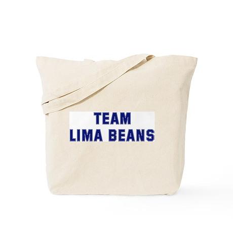 Team LIMA BEANS Tote Bag