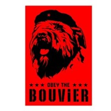 Obey the Bouvier! Postcards (Package of 8)