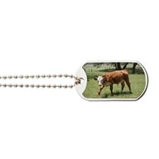 Hereford Calf at the LBJ Ranch Dog Tags