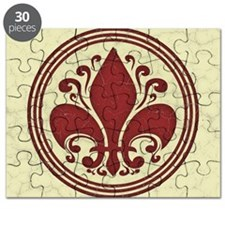 fleur-antique-red-BUT Puzzle