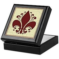 fleur-antique-red-PLLO Keepsake Box