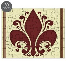 fleur-antique-red-PLLO Puzzle