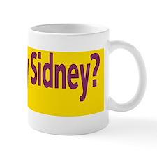 Mary Sidney Society bumper sticker Mug