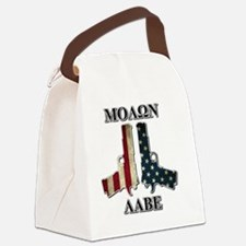 Molone Labe (Come and Take Them) Canvas Lunch Bag