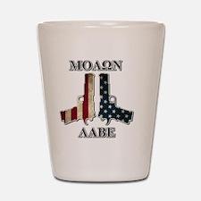 Molone Labe (Come and Take Them) Shot Glass