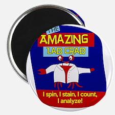The Amazing Lab Crab Magnet