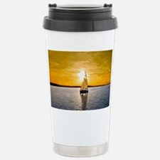Sailing into the sunset Stainless Steel Travel Mug