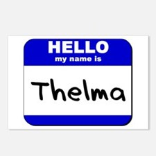 hello my name is thelma  Postcards (Package of 8)