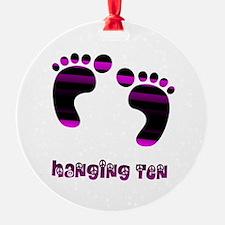Hanging Ten Ornament