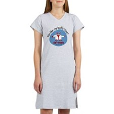 Crab in buffy coat Women's Nightshirt