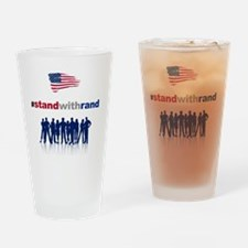 #Stand With Rand Drinking Glass