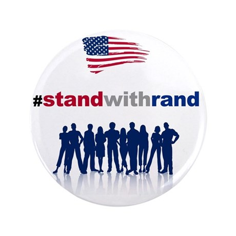 "#Stand With Rand 3.5"" Button"