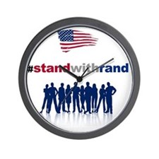 #Stand With Rand Wall Clock