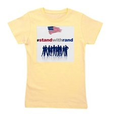 #Stand With Rand Girl's Tee