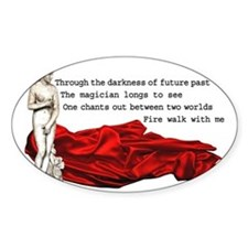 Twin Peaks Fire Walk With Me Decal