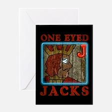 Twin Peaks One Eyed Jacks Greeting Card