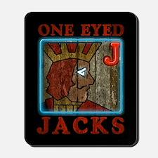 Twin Peaks One Eyed Jacks Mousepad