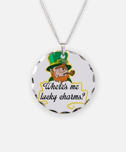 Wheres me lucky charms? Necklace